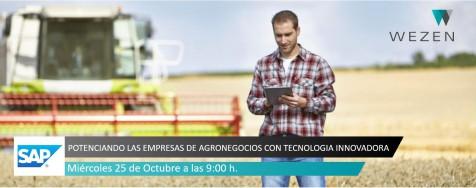 Evento SAP: Potenciando Las Empresas De Agronegocios Con Tecnología Innovadora